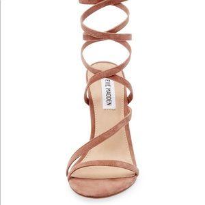 Steve Madden high heel suede sandals